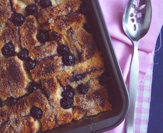 PB N' J Bread & Butter Pudding
