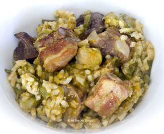 Arroz meloso de costillas