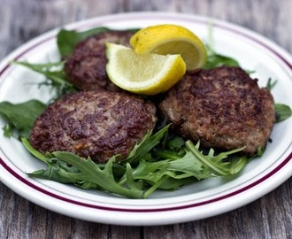 Lime & Oregano Lamb Patties