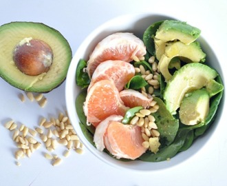 Vegan Grapefruit Avocado Salad: Two Ingredients To Jump-start Weight Loss