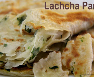 Lachha Paratha Recipe | Lachedar Paratha | How to make Lachha Paratha