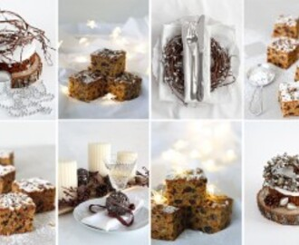 Christmas Cake Tray Bake