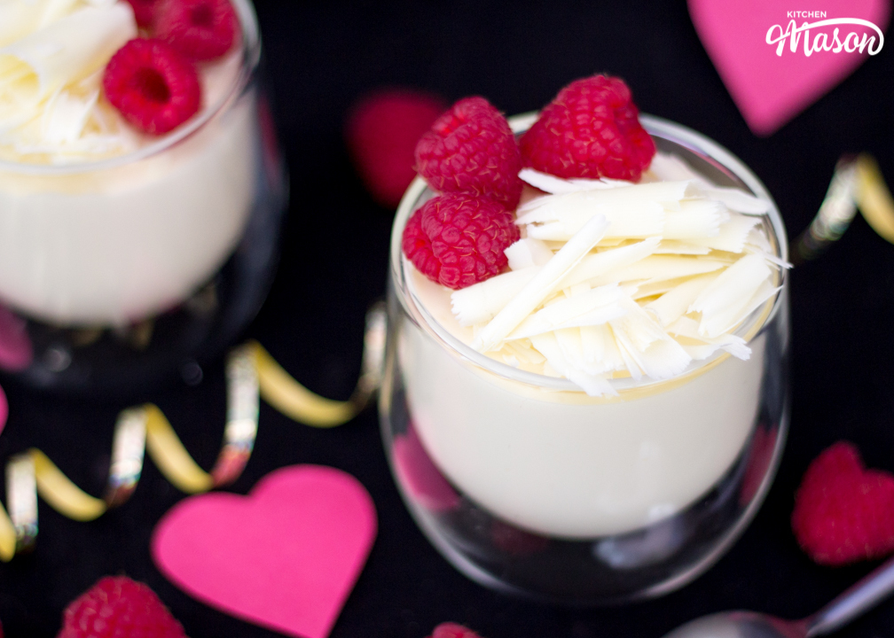Easy 2 Ingredient White Chocolate Mousse