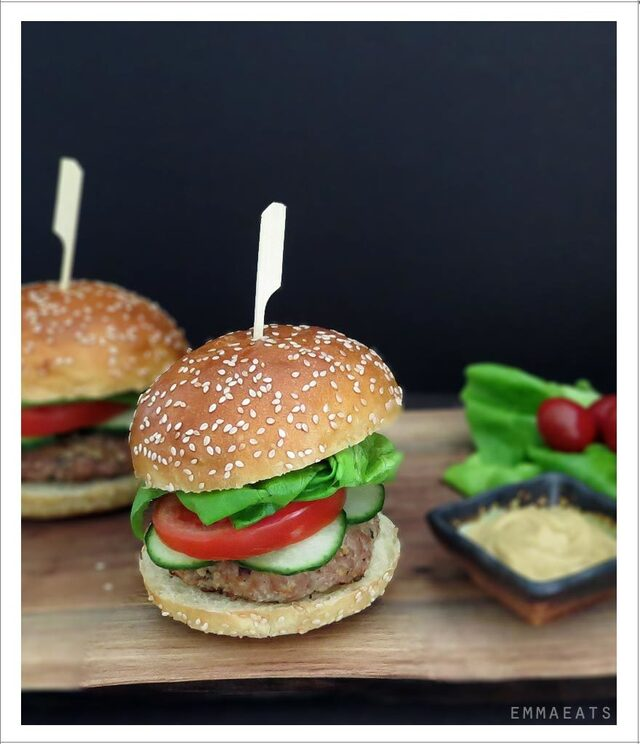 Fabulous, Fast and Easy BBQ Turkey Burgers
