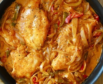 Pressure Cooker Chicken Paprikas