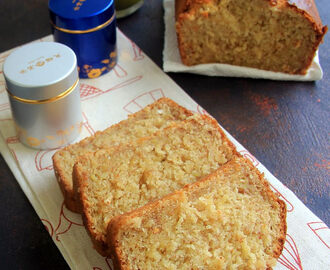 Bannana wheat cake - Eggless Baking - Breakfast, Snack Recipes - Cake recipes