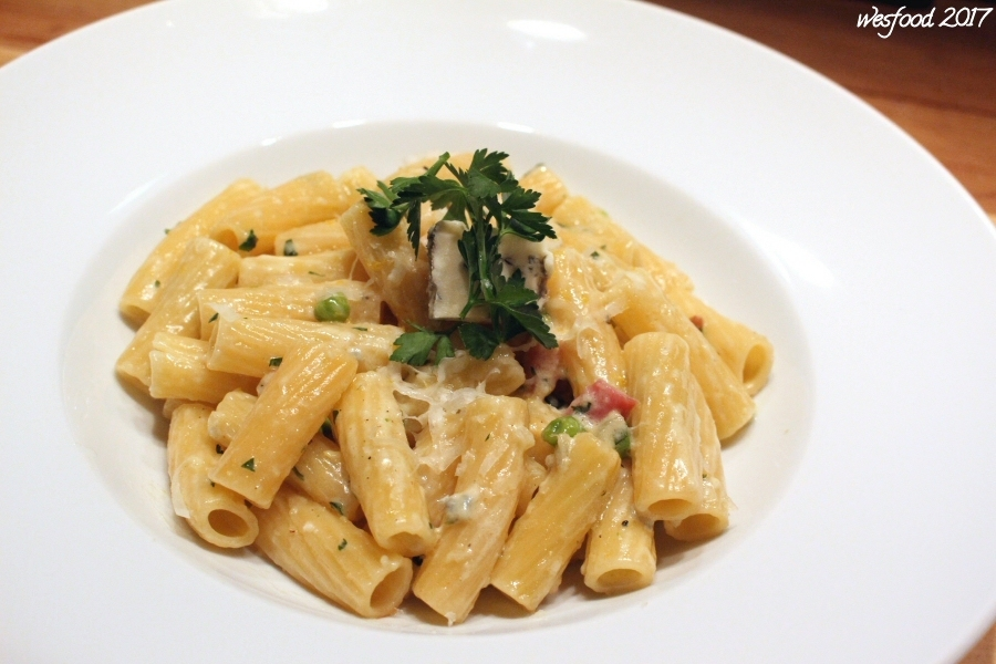 Pasta in Gorgonzolasauce