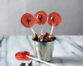 Mint and Rose Lollipops Recipe