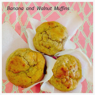 Banana and Walnut Muffins in the Thermomix