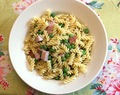 Smoked Ham & Peas Pasta #Weekly Menu Plan