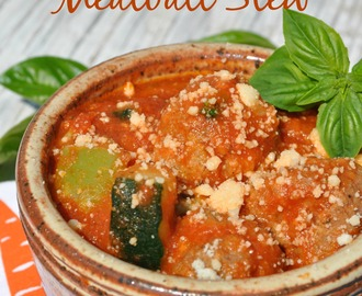 GUEST BLOGGER: Slow Cooker Italian Meatball Stew