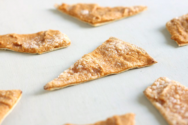 Pumpkin pie crackers