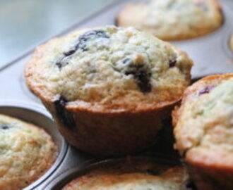 Blueberry Muffins – Sunday Breakfast #2