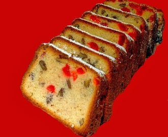 We Are Back with a Cream Cheese and Cherry Loaf Cake