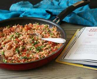 Stuart's Paella #cookbook #review #giveaway
