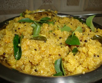 Lapsi Tamarind Pongal (South Indian Breakfast)