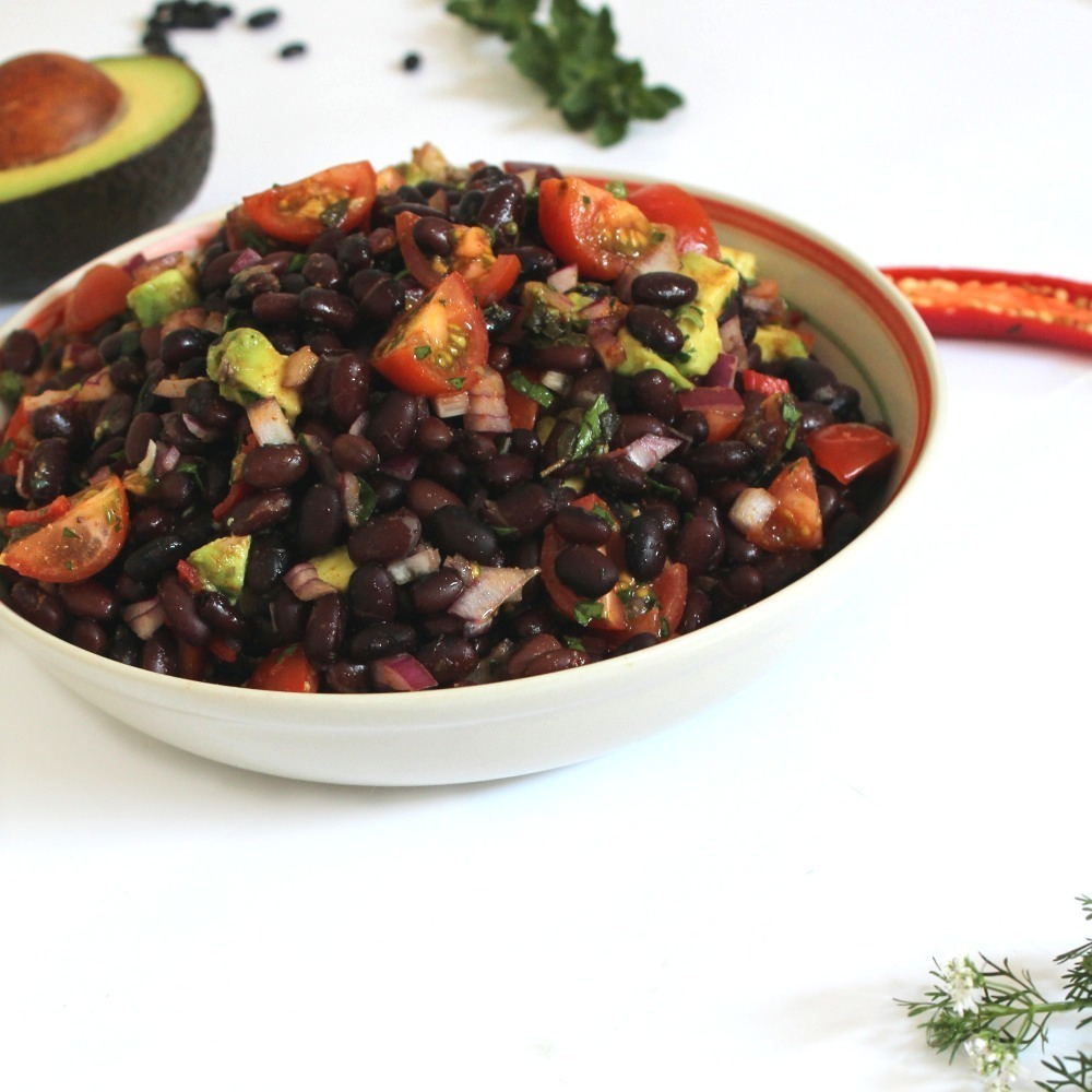 Simple Salad Series 2014: Blackbean Salad (Mexican Style)