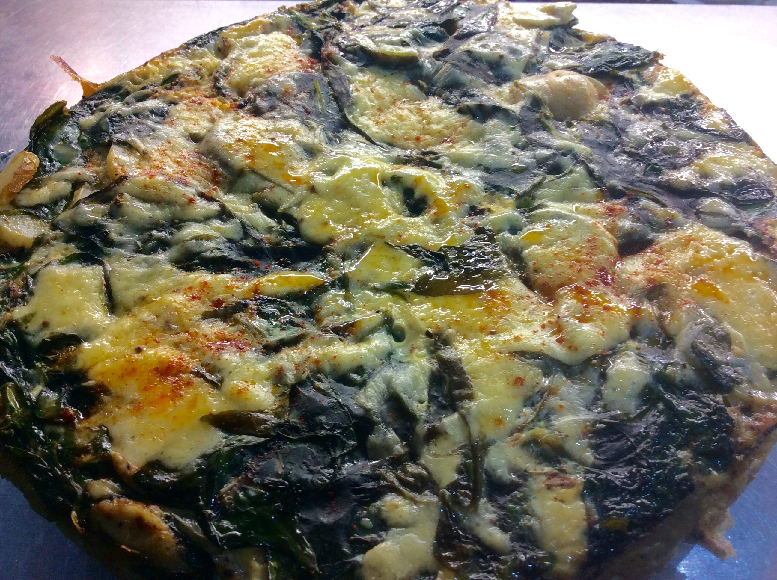 Recipe of the Week – 30th May 2016 – Spinach and Courgette Fritatta