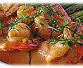 SHRIMP IN DRIED RED CURRY