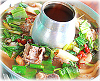 THAI PORK RIBS SPICY SOUP