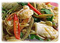 SEAFOOD SPICY STIR-FRY