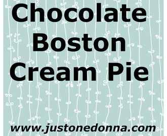 The Best Chocolate Boston Cream Pie You'll Ever Taste