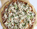 Peanut chicken pizza recipe. Easy meal in under 30 minutes.