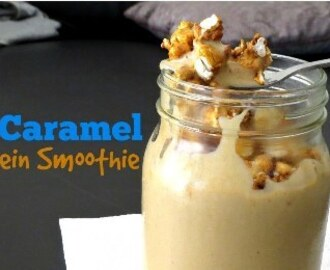 CLICK'n Double Caramel Protein Smoothie