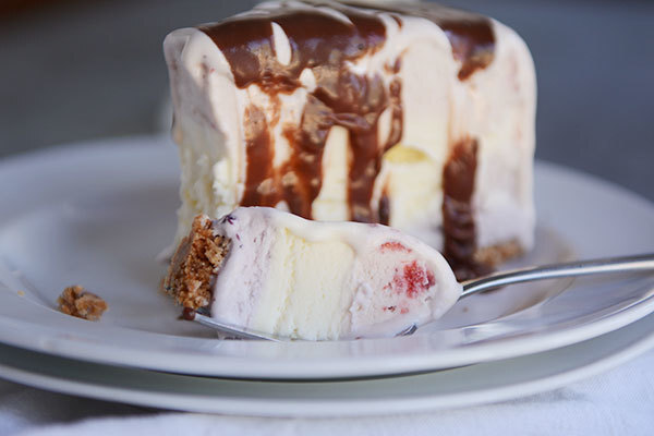 Easiest-Ever Ice Cream Cake with Sugar Cone Crust