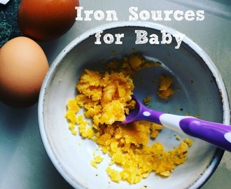 Whole Food Iron Sources for Baby