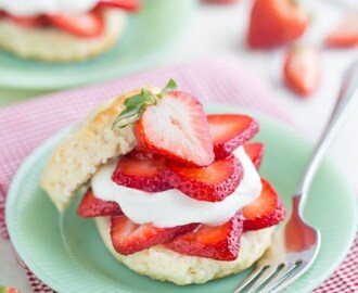 Simply Perfect Strawberry Shortcake