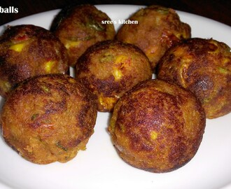 Veg Cheese balls (Without deep fry)