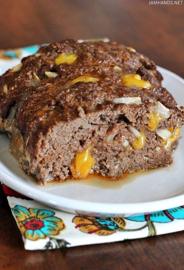 Cheeseburger Meatloaf (Keto/Low Carb)