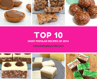 The Top 10 Most Popular Recipes of 2014