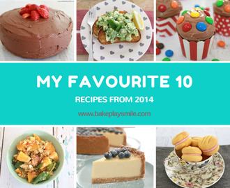 My Favourite Recipes from 2014