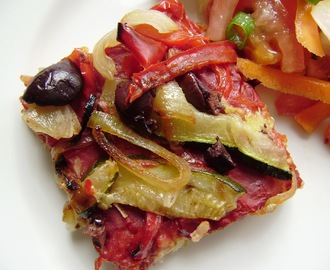 Brown Rice Pizza - gluten free!!
