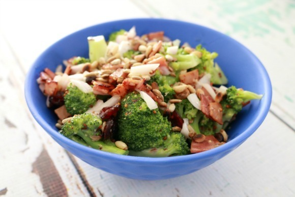 Broccoli, Bacon & Cranberry Salad – Fabulous Foodie Fridays #31