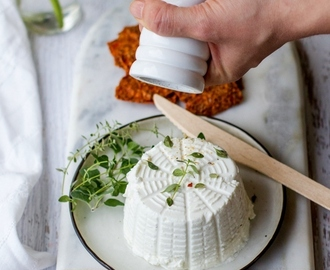 Homemade Goat's Cheese | Chevre Cream Cheese