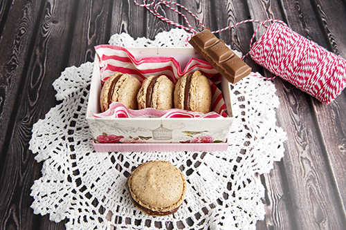 Chocolate Hazelnut Macarons – TM5