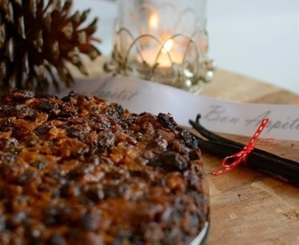 Gluten, Dairy and Sugar Free Christmas Fruit Cake