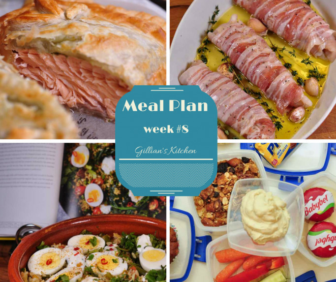 Weekly Meal Plan (week 8)