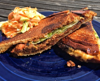 Vegansk Patty Melt