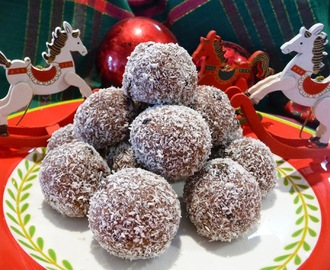 Bundy Rum Balls (bewitched with Belgian Chocolate)