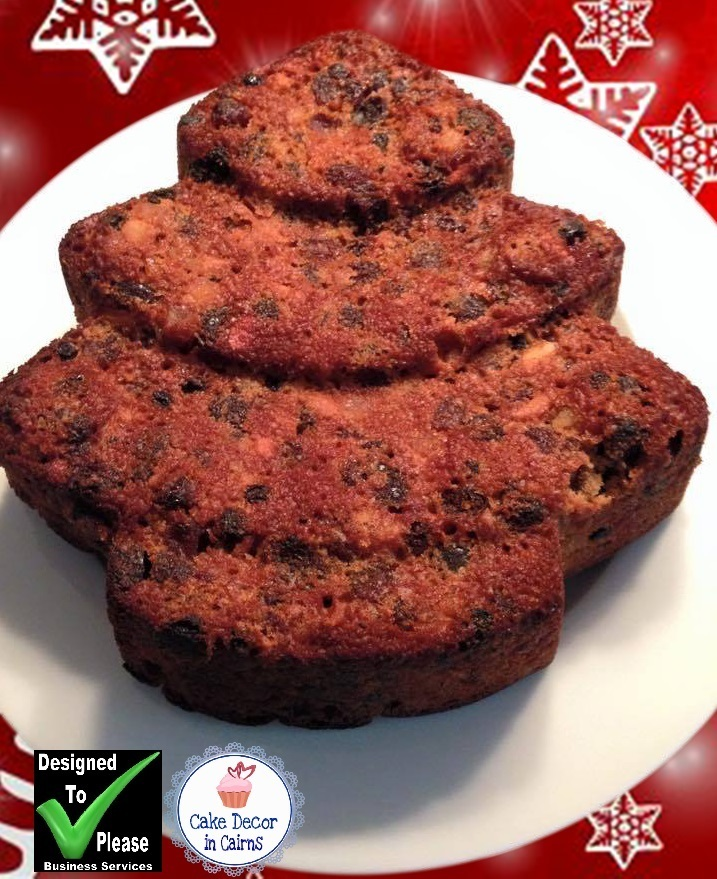 Easy Gluten Free Christmas Cake Recipe!