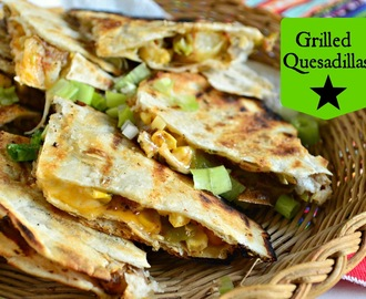 Grilled Quesadillas and #CookoutWeek