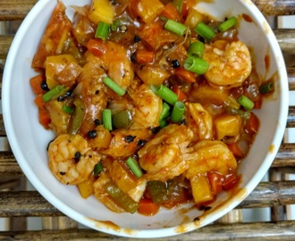 Sweet N Sour Prawn - A chinese side dish