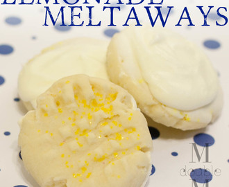 Lemonade meltaway cookies (recipe).