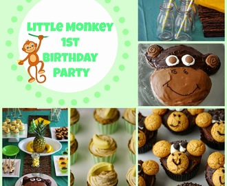 Little Monkey 1st Birthday Party