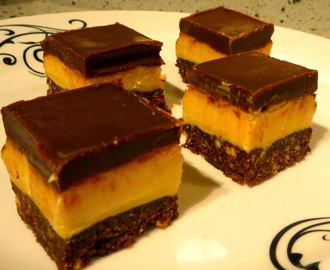 Recipe | Peanut Butter Nanaimo Slice - A Canadian Treat