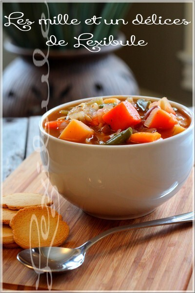~Soupe minestrone~